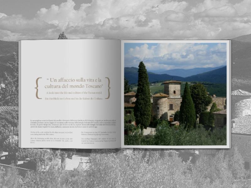 Castello di Gabbiano rinnova le brochure istituzionali