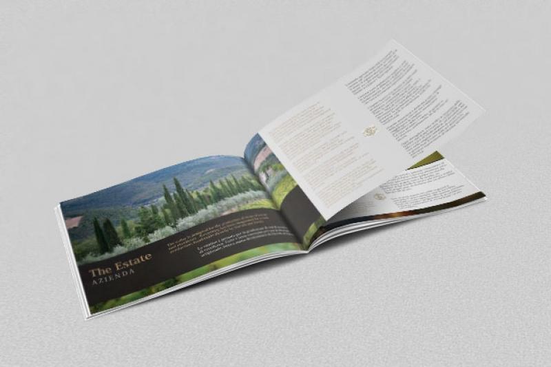Brochure istituzionale per Chioccioli Wines