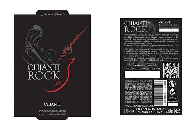 Chianti Rock Etichetta1