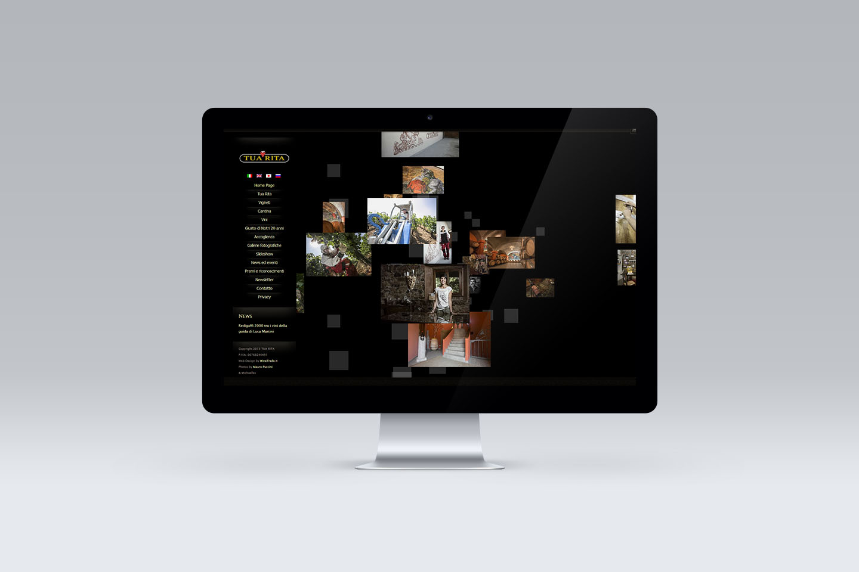 Tua Rita Website Home Page