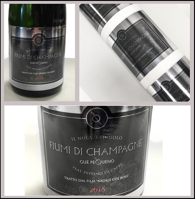 """Winetrade firma l'etichetta per il nuovo singolo di Gué Pequeno """"Fiumi di Champagne"""""""