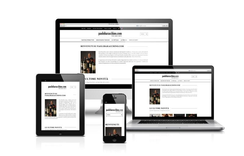 Paolo Baracchino nuovo sito web
