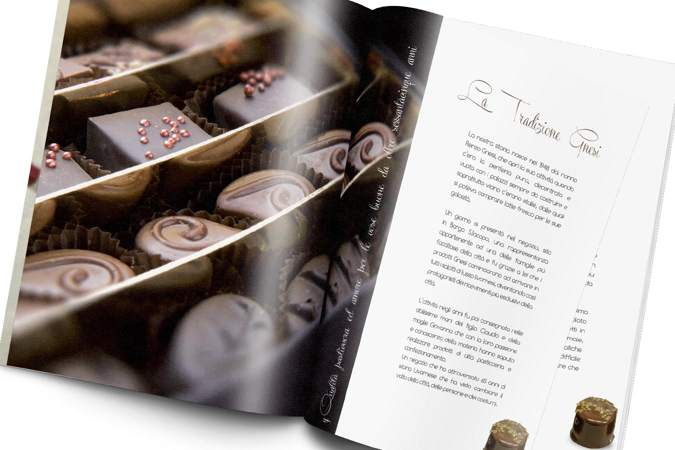 Assolo Chocolate assolo brochure