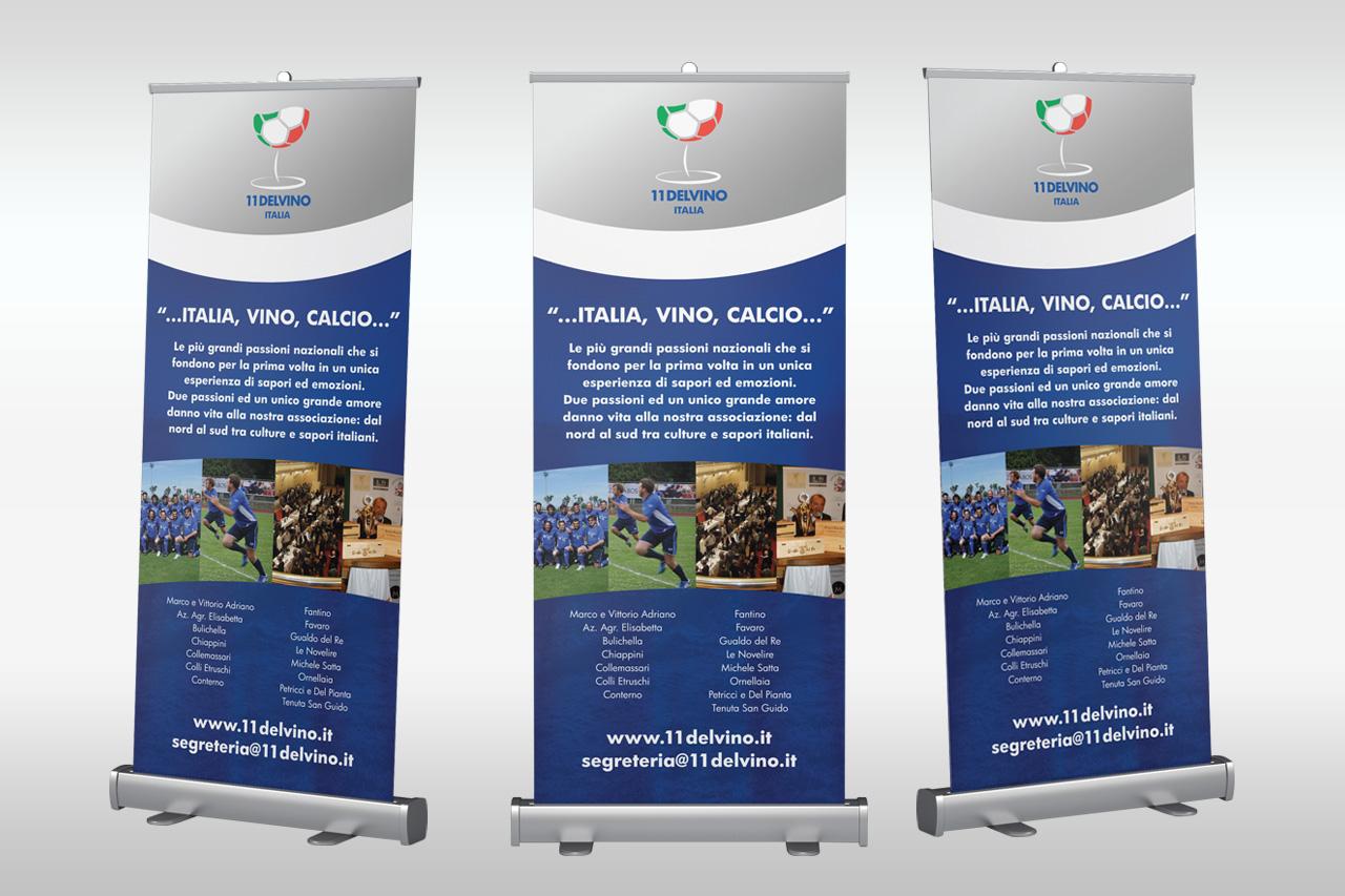 Undici Del Vino Italia 11delvino rollup