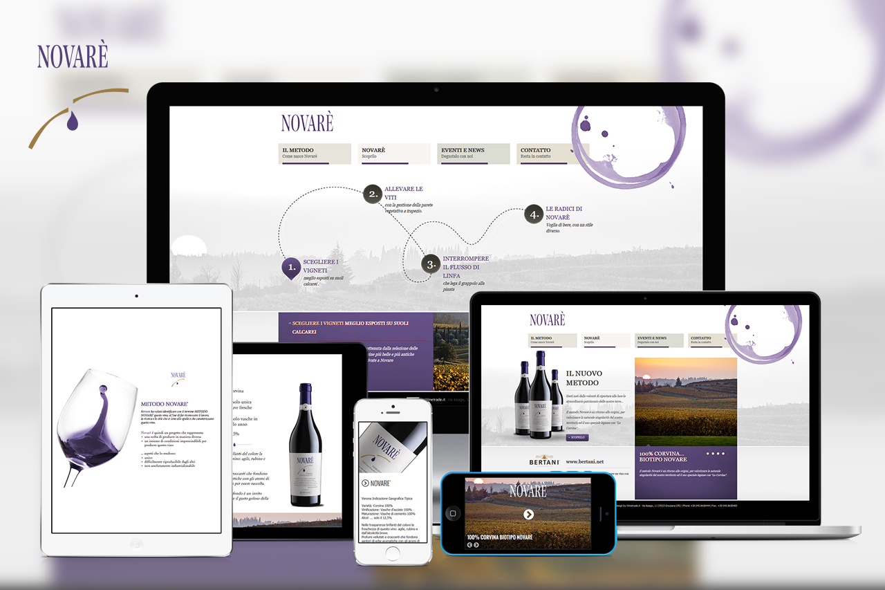 Novarè web corporate novare