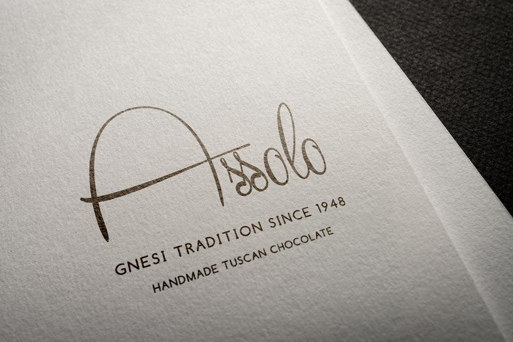Assolo Chocolate assolo logo