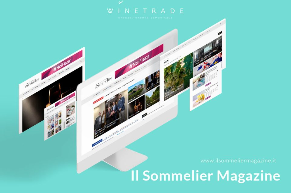 Il Sommelier Magazine new website