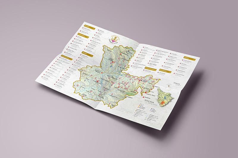 W Lab Brand Communication mappa montecucco